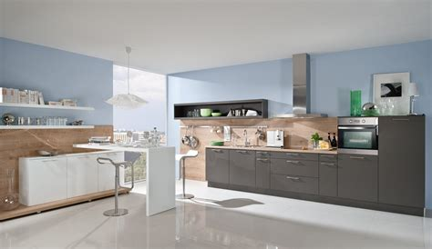 Exclusive Kitchen Design Trend Einbauk 252 Che Alba Anthrazit K 252 Chen Quelle