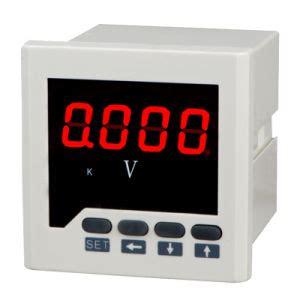 Gae Voltmeter Ac 96 500v 1 china digital voltmeter single phase voltage 1 channel of