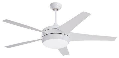 contemporary white ceiling fan with light four light appliance white ceiling fan contemporary