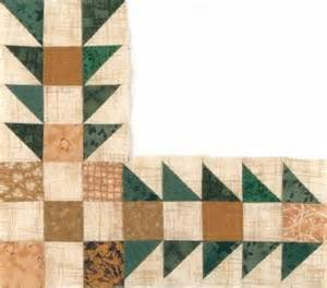 Sawtooth Quilt Border by Sawtooth Square Quilt Border Pattern Howstuffworks