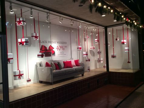 window display ideas black friday inspiration for furniture store display
