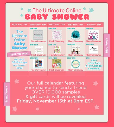Baby Shower Schedule Of Events by The Ultimate Baby Shower Rsvp Today Lo Wren