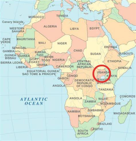 africa map uganda uganda images