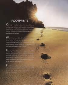 Footprints in the sand posters and art prints christian pictures
