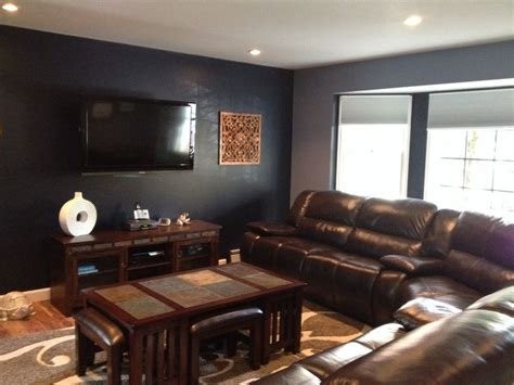 navy blue and chocolate brown living room pin by heller on my style