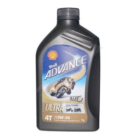 Shell Advance shell advance 4t ultra 15w 50 synthetic liter