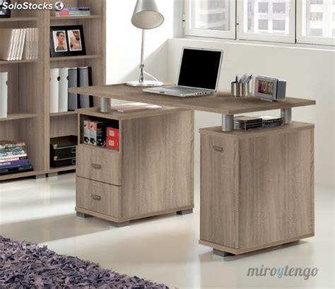 ordenador escritorio escritorio mesa de ordenador con cajonera color cambrian