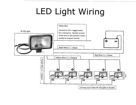 12v led light bar wiring diagram free wiring
