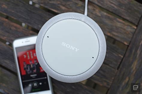 sony lf sg smart speaker review  solid google home alternative