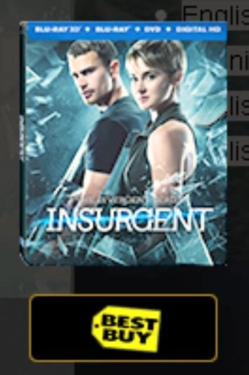 Steelbook Divergent Best Buy divergent 2 insurgent 3d best buy exclusive 201 tats