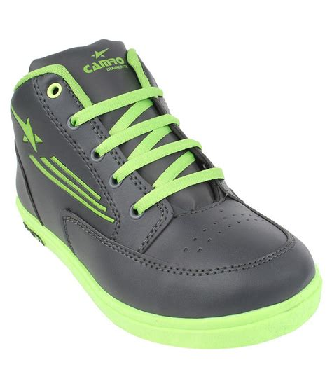 bersache black green sports shoes price in india buy