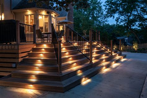 Complements your landscaping installing outdoor lights will