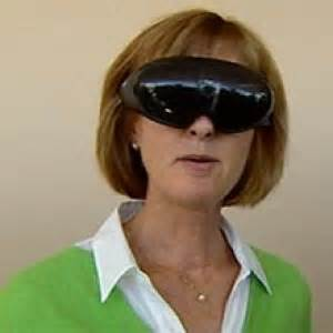 do blind see black high tech glasses help the nearly blind see ottawa cbc