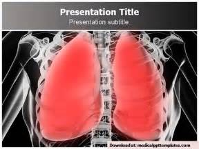 Pneumonia Powerpoint Templates Authorstream Lung Cancer Ppt Templates Free