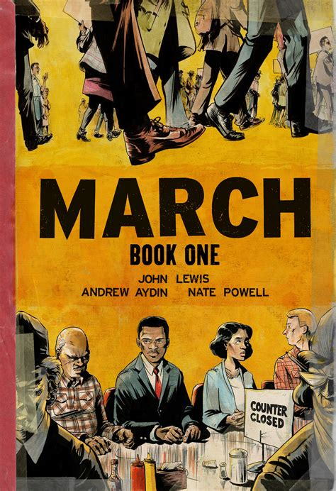 march book two in graphic novel march rep lewis renders a