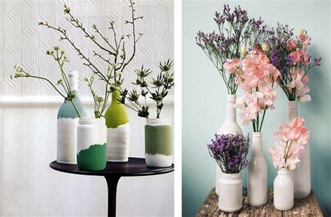 como decorar botellas en vidrio como decorar frascos y botellas de vidrio 3 ideas