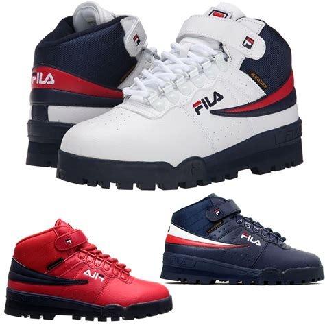 Top New 13 new mens fila f 13 mid high top weather tech sneaker boots shoes