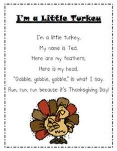 kindergarten thanksgiving poem thanksgiving preschool theme on pinterest turkey craft