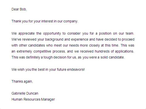 thank you letter after with human resources thank you letter after human resources manager