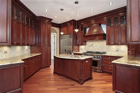 Wood Kitchen Cabinets by Tips On Selecting Your Kitchen Cabinets Harden Custom Homes