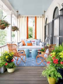 decorating front porch for porch design and decorating ideas hgtv