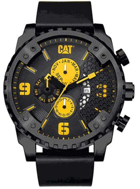 Caterpillar Sc 169 34 127 Black by S Cat Caterpillar Grid Oversized Black Leather
