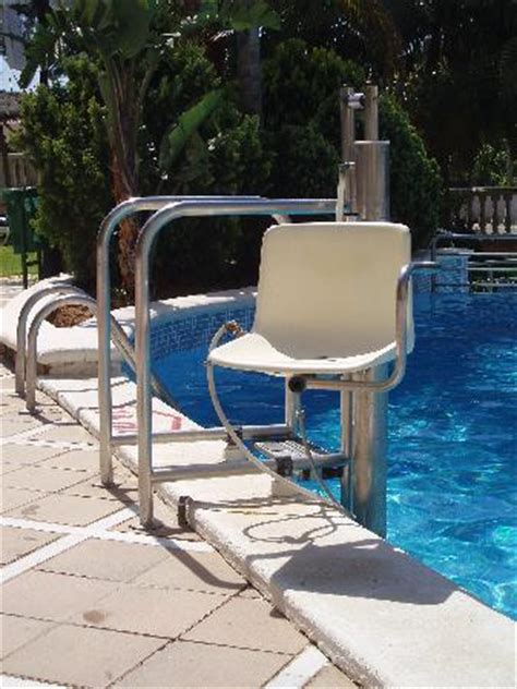Pool Chair Lift by Pool Chair Lift Picture Of Hotel Aparthotel Dorada