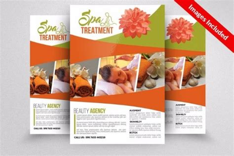 30 creative spa flyer templates word psd ai indesign