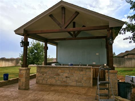 Outdoor Kitchen Contractor by Outdoor Kitchens Lubbock Concrete Contractor 806 329