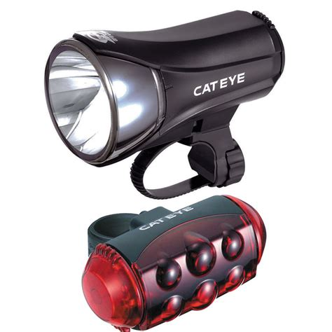 Spinning Bike Murah Tl 930 cateye hl el530 tl ld1100 front and rear cycle lightset probikekit uk