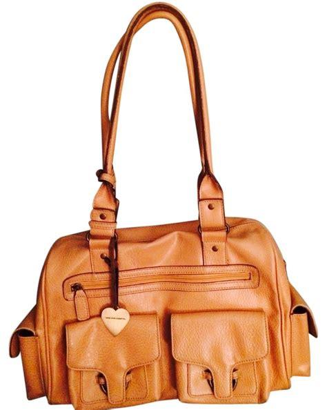 United Colors Benetton Bag Khaki united colors of benetton light leather weekend travel bag tradesy