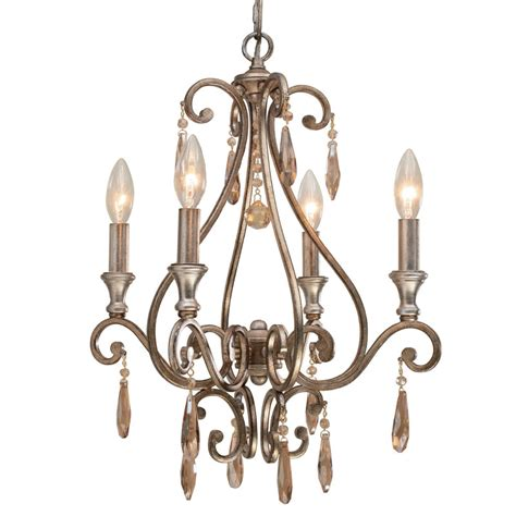 Distressed Chandeliers Shelby Distressed Twilight Mini Chandelier By Crystorama
