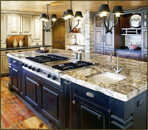 kitchen stove island best 25 kitchen island with stove ideas on