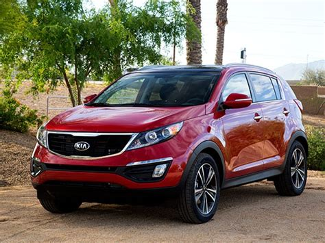 Kia Sportage Commercial Vehicle Compact Suv Comparison 2015 Kia Sportage Kelley Blue Book