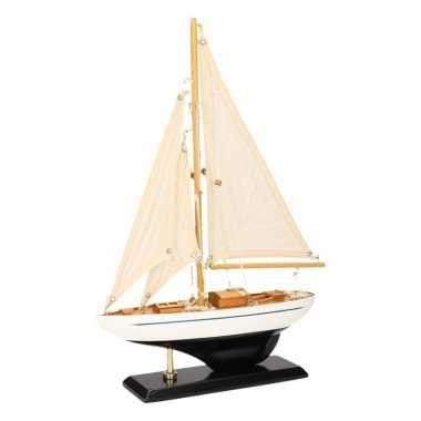 model zeilboot kopen model zeilboot luxe donkerblauw wit 26 cm model zeilboot nl