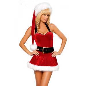 Mrs santa christmas xmas with belt costume outfit fit size 2 4 or 6 8