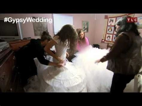 american gypsy wedding youtube the dress my big fat american gypsy wedding youtube