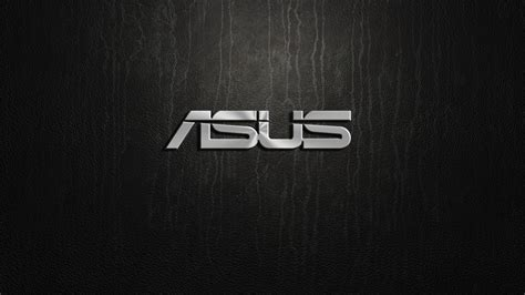 wallpaper asus intel asus silver logo on black background hd wallpaper