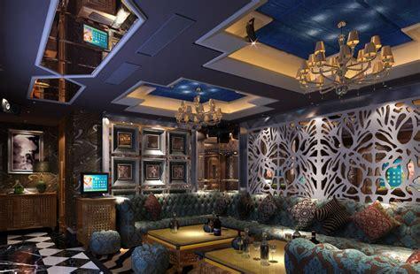 three bedroom house karaoke ktv room ceiling blue and purple download 3d house