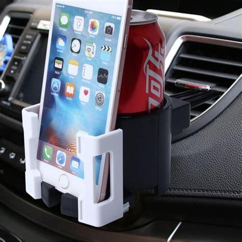 Multifunction Car Air Vent Drink Holder shunwei sd 1026 car auto multi functional abs air vent drink holder bottle cup holder phone