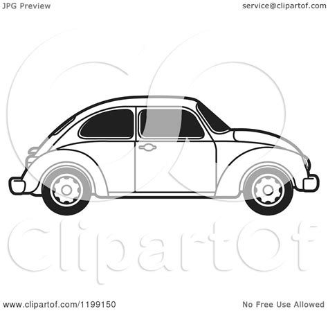 volkswagen beetle clipart free coloring pages of vw bug