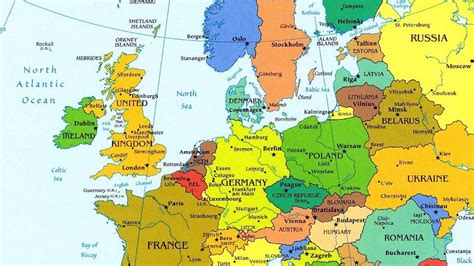 world map europe cities map europe cities
