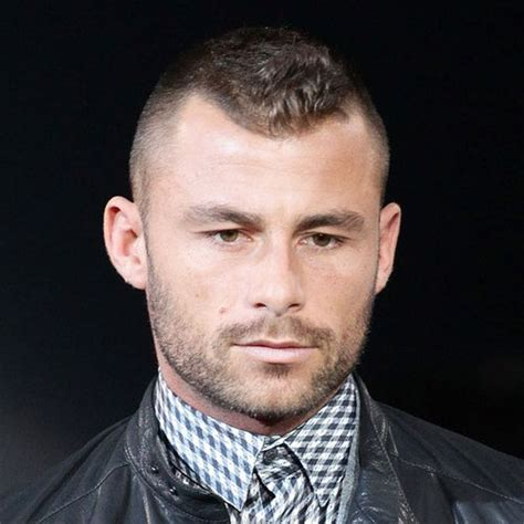 high hairline hairstyle men 30 high and tight haircuts for classic clean cut men