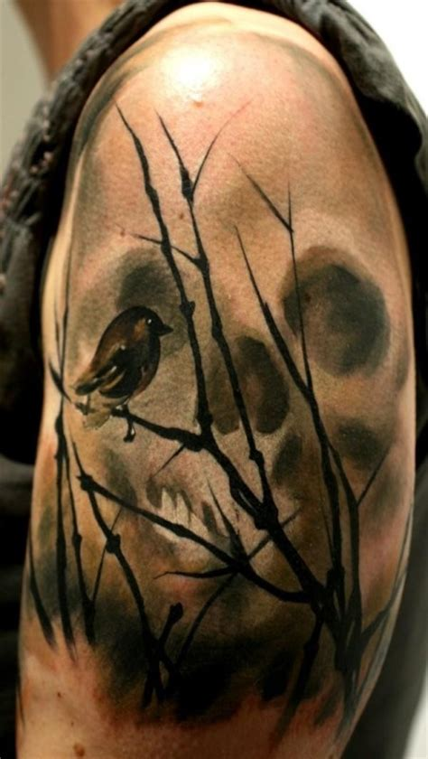 extraordinary cool skull tattoos skull tattoos