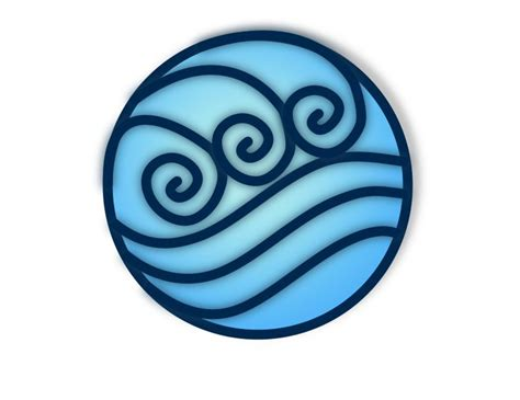 tribal water tattoos symbol for water possible idea tattoos