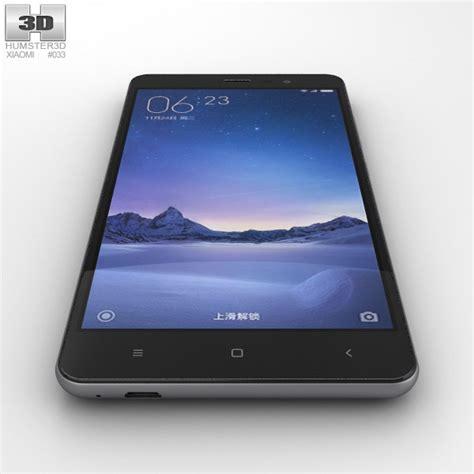 Xiaomi Redmi Note 3d xiaomi redmi note 3 gray 3d model hum3d