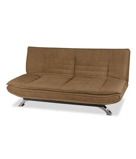 sofa bed in india edo sofa bed in brown buy edo sofa bed in brown online
