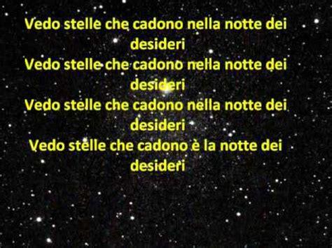 la notte dei desideri testo la notte dei desideri lorenzo jovanotti cherubini con