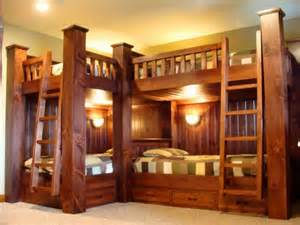rustic bunk beds bunk beds rustic new york by adirondack