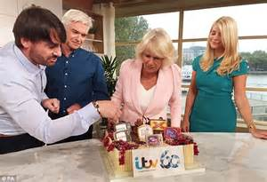 Rod Stewart To Camilla Bowles Do Ya Think Im by Camilla Bowles Wows Phillip Schofield During